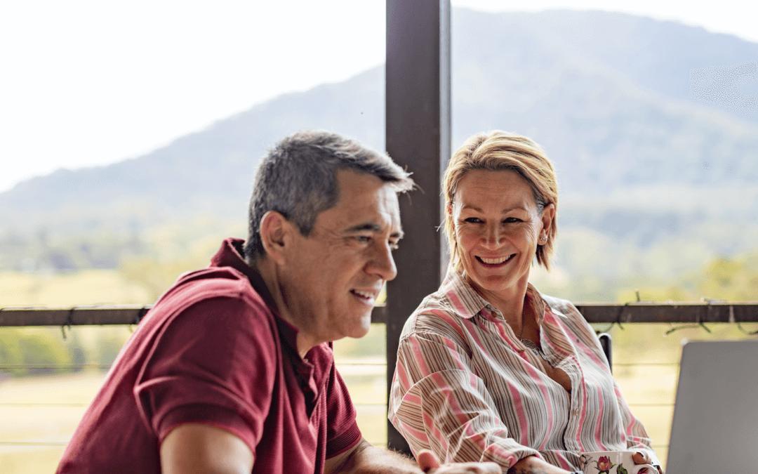 Pour Eric, départ à la retraite rime avec changement de vie, mySofie l'aide à faire le point sur sa mutuelle